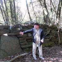 西海市歴史ロマン探検隊 「雪浦ホゲットウ石鍋製作所跡」
