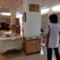 沖縄エルサレム教会のボーチェが緩和ケア病棟でゴスペルを歌いました