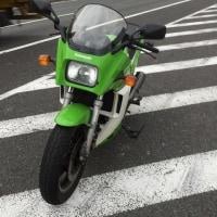 GPZ900R  仕事にGo