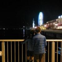 夜のハーバーランド