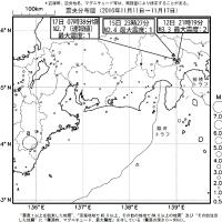 今週のまとめ - 『東海地域の週間地震活動概況(No.47)』など