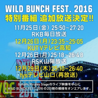 WILD BUNCH FEST.2016 ON AIR