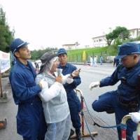 6月16日 辺野古へ行くダンプはグリ石の洗浄をしていない。