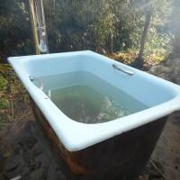 露天風呂を造る