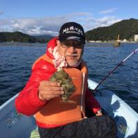 三井さんと船釣りを