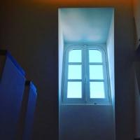 ピカソ美術館の3つの窓。