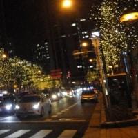 大阪御堂筋のイルミネーション