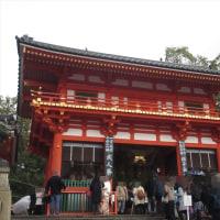 祇園社(八坂神社)へ