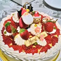 シンフラのケーキでクリスマス