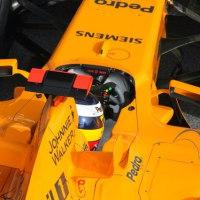 マクラーレンF1、マシンカラー変更を認める。アロンソがMCL32のデビュー走行を担当