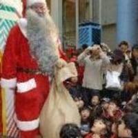 サンタが到着☆