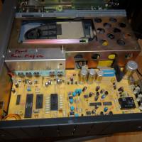 REVOX製CDP B226のメンテナンス。