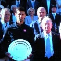 ATPテニスマスターズ1000 イタリア国際~ローマ~ A.ズベレフ×ジョコビッチ