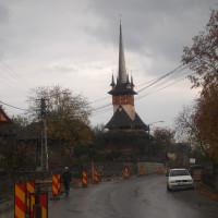 ルーマニアのデセシュティの木造教会