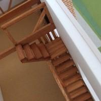 プロが教える 建築模型の作り方 階段を作る