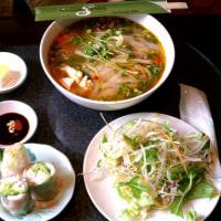 ベトナム料理のベトナムガーデンです。衣装がセクシーでした。