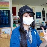 私の手織り体験 (マスクでゴメンなさい)