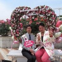 福山バラ祭り行ったよ~!