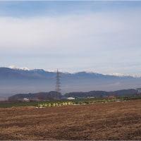 ★北アルプスの山々が遠望できる朝