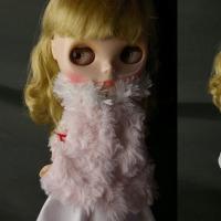 薔薇ボアコート&スカート・・・