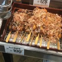 南大阪名物、たこ焼き串!