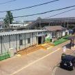 愛子駅仮駅舎使用開始