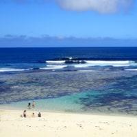 3日目-2 Surfers pointでオージーと会話