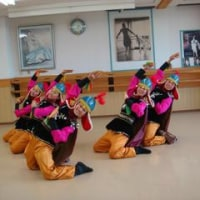 姜輝鮮朝鮮舞踊研究所 第31回発表会練習風景