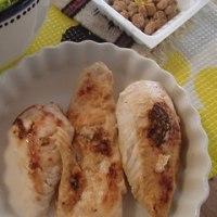 鶏胸生姜漬け