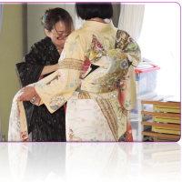 今日は、「全日本きもの文化研究協会」の進級試験