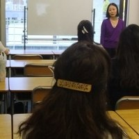REPORT) Special Talk by a nursing assistant studying at State University of New York on March 15