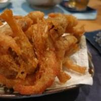海老の唐揚げは美味いな〜 ^_^