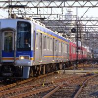 夕暮れの住吉東駅