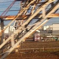 何年ぶりだ新幹線