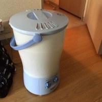 コンパクトな洗濯機