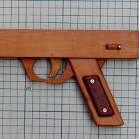 また横掛けゴム銃の制作(2)