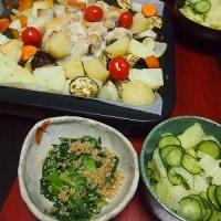 手羽元と野菜のオーブン焼き