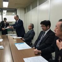 福島復興、原発ゼロの大運動で福井県庁に申し入れ。北陸農政局との意見交換会。インドのお菓子