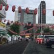 ノルディックウォーキング事業: 旧新橋停車場ー烏森神社ーバルーンーこいち祭