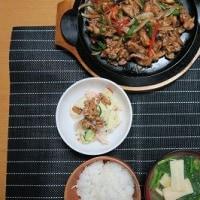 炊屋食堂の肉野菜炒め定食・・・