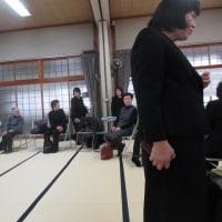 先祖供養祭と座談会で