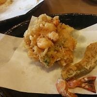 ブログ161228 本日のランチ  天ぷら  船橋屋