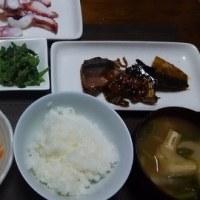 長女の家、川崎に行って来ます、サバの味噌煮