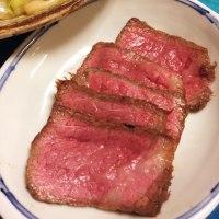 2017年6月28日  高野豆腐・ズッキーニ・アスパラガスの煮物   ローストビーフ  焼きうどん