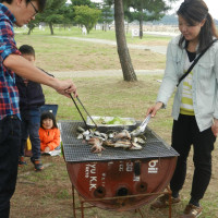地曳網&BBQを開催しました