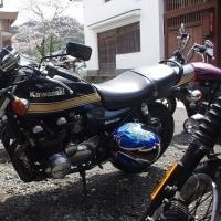 お客さんのバイク 285.