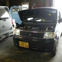 三菱 EKワゴン 車検整備