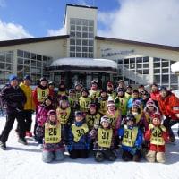 スキー授業(七ヶ宿スキー場)