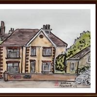 愛蘭土旅行シリーズ その7 ブッシュミルズ村の住宅