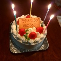 妻の誕生日祝い②